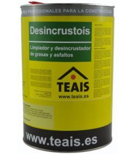 Teais Desincrustois limpiador de grasas minerales, asfaltos y petroleos
