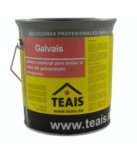 Pintura para pintar chimeneas y tubos de zinc GALVAIS