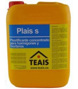 Teais Plais plastificante para cementos y morteros