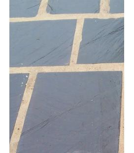 Plaqueta de pizarra irregular 35x25 para suelos y jardines