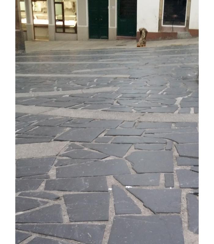 Planchoncillo de pizarra para suelos de piedra natural - Suelos de pizarra ...