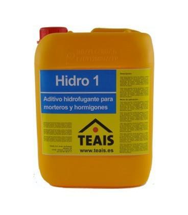 Teais Hidro 1 hidrofugante líquido para cementos y morteros