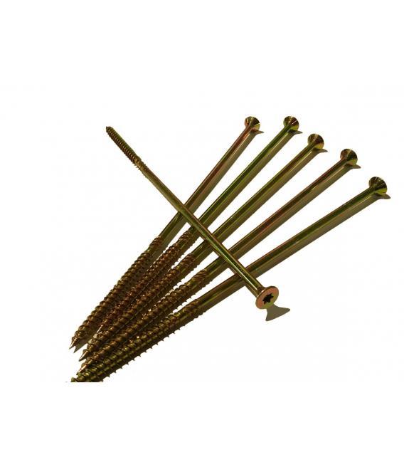 Tornillo rosca para madera punta broca