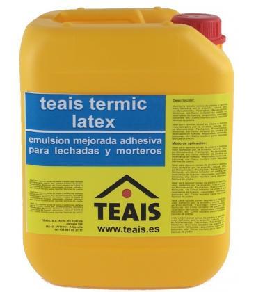 Teais Termic Latex mejorador para cementos en suelos radiantes