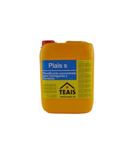 Plais Super Concentrado plastificante para cementos y hormigones