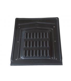 Beata plana de ventilación en zinc negro ANTRA