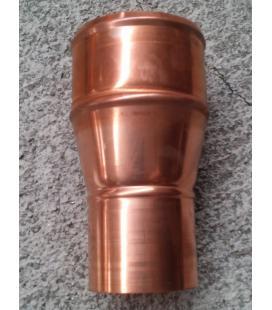 Manguito de reducción de cobre 100 a 80