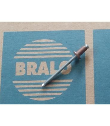 Remaches de cobre/acero BRALO 4x8 (500 unidades)