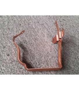 Gafa para canalón cornisa de 300 cobre