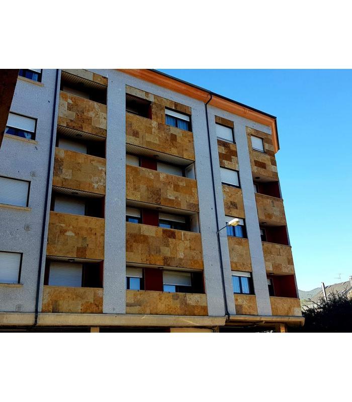 Piedra de pizarra para fachadas gallery of anclajes - Fachadas de pizarra ...