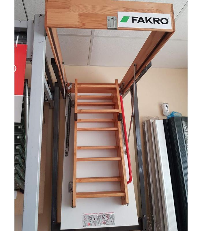 Escalera escamoteable fakro plegable para buhardillas y for Escaleras para buhardillas plegables