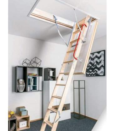 Escalera escamoteable fakro plegable para buhardillas y trasteros - Escalera para buhardilla ...