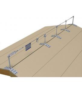 Punto de anclaje para atornillar a vigas de madera LUX-top ASE PV 7 canteado