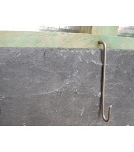 Ganchos de acero inoxidable de 16x50
