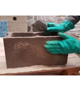 Mortero de reparación sistema de impermeabilización para vías de agua