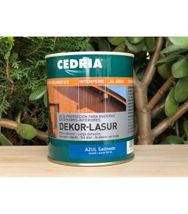 Cedria Dekor Lasur COLOR para maderas en el exterior