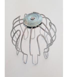 Coladores para bajantes de acero galvanizado