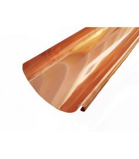 Canalón redondo de Cobre 0,5 mm (venta por ml)