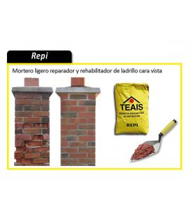 Teais Repi mortero especial para restauración de ladrillo cara vista