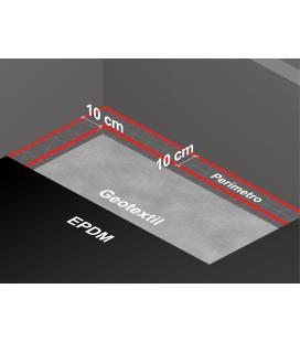 Geotextil Firestone TYPAR SF para instalar con lámina EPDM (venta por m2)