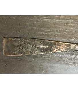 Uñeta multifuncional para partir pizarra o piedra de acero F114