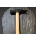 Martillo para labrar pizarra de acero F114 con mango de eucalipto