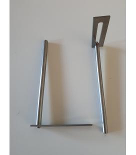 Soporte separador canalón para distanciar canalón