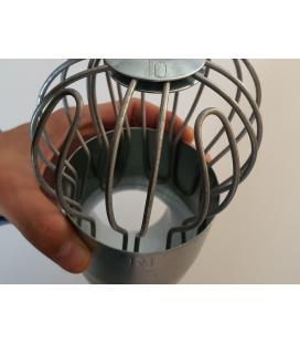 Colador bajante acero galvanizado