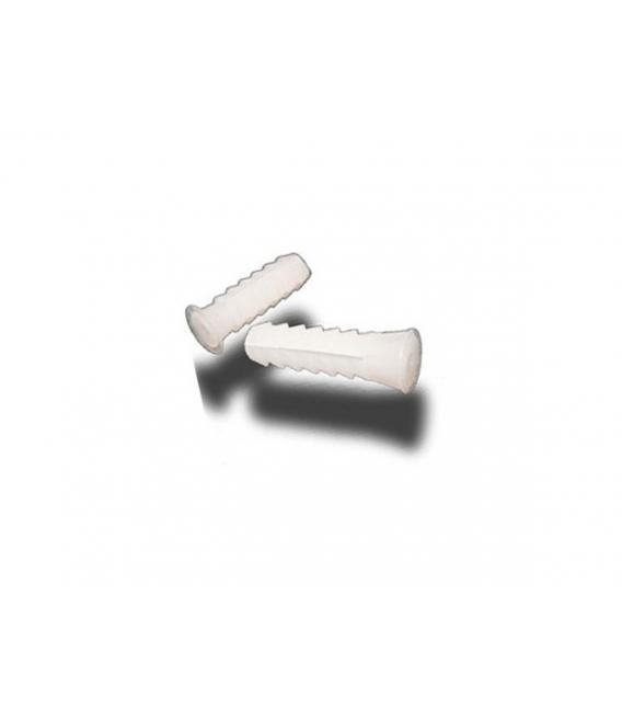 Taco blanco de plástico de 6mm