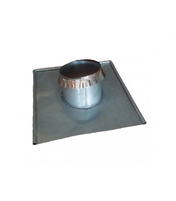Base chimenea redonda de zinc