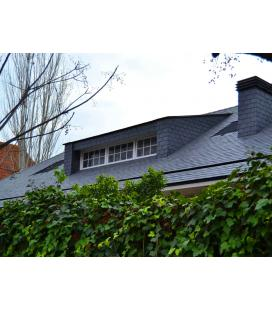 Tejas de pizarra 35x22 para tejados (venta por m2)