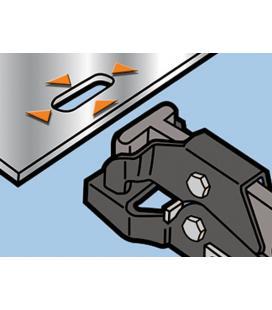 Punzonadora de muescas para chapa (3,5 x 15mm)
