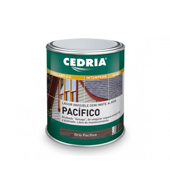 Cedria Pacífico Lasur invisible semi mate para exteriores