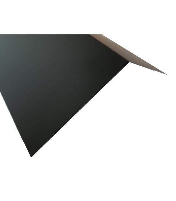 Remate ángulo de cumbrera aluminio (unidades de 2ml)