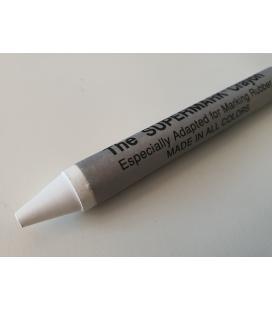 Marcador blanco Supermark para marcar lámina EPDM de Firestone