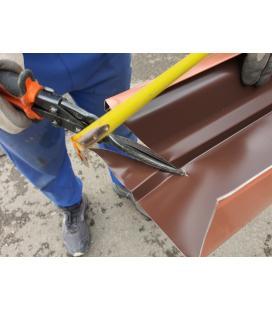 Tijera para cortar Zinc, cobre y remates de aluminio y chapa