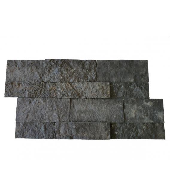 Piedra STONE panel antracita para revestimiento de fachadas o muros