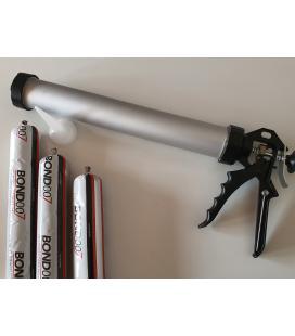 Pistola tubular para aplicar bolsas de adhesivo para EPDM Bond 007