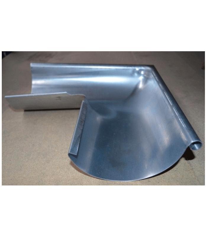 Escuadra exterior para canal n redondo de zinc for Revestimiento exterior zinc