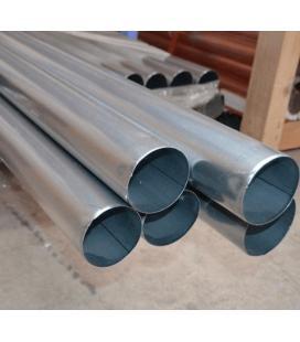 Bajante redonda zinc