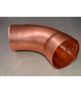 Codo electrosoldado redondo de Cobre 80mm diámetro