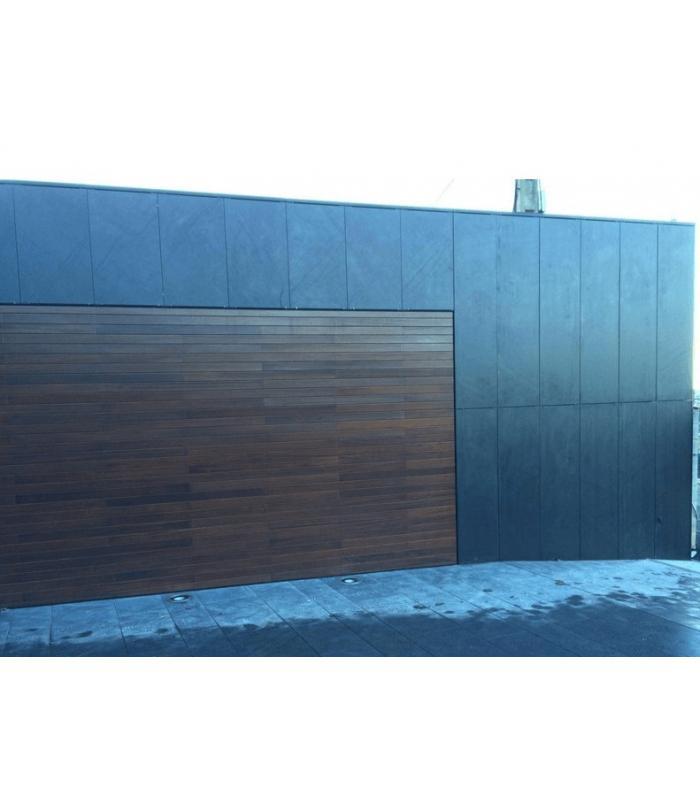 Pizarra serrada gran formato para suelos y fachadas for Pizarra para jardin