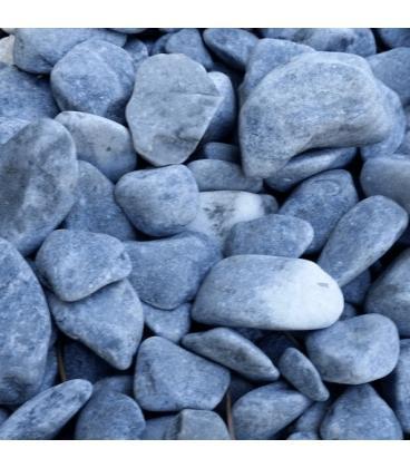 Piedras para jardin de marmol azul