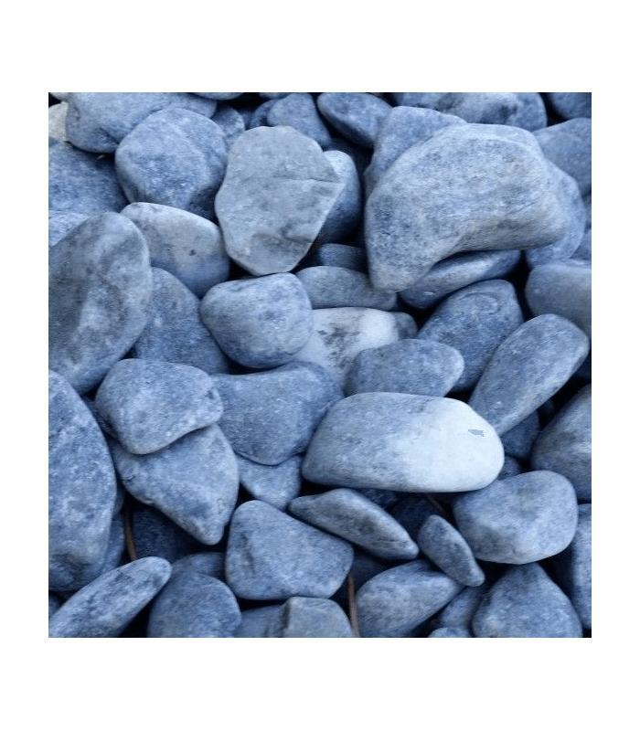 Piedras para jard n de m rmol azul for Piedras jardin baratas