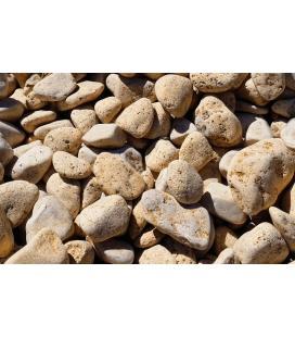 Piedras para jardin de marmol amarillo limón