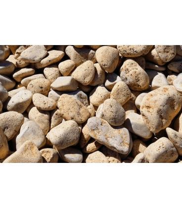 Piedras para jardin de mármol amarillo limón
