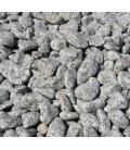 Piedra para jardín de granito gris