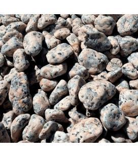 Piedras para jardin de granito rosa