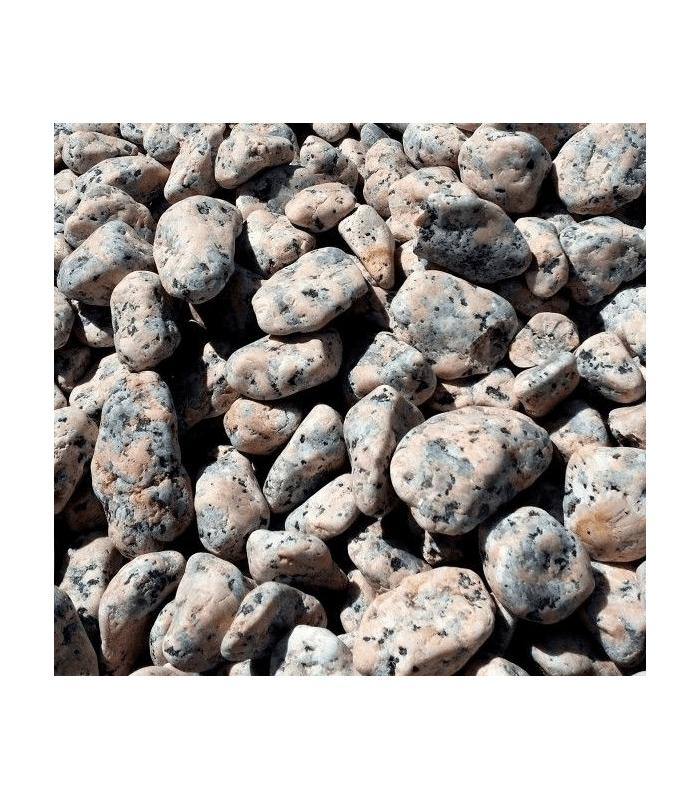 Piedras para jard n granito rosadas for Piedras de granitos