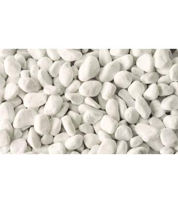 Piedra para jardin blanca de mármol